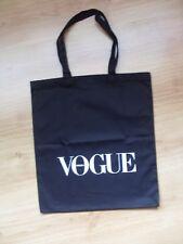 VOGUE Polska (VOGUE Poland) Canvas ECO Tote Bag  / Black / Very Rare!
