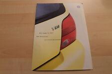 82643) VW Lupo 3L TDI - technische Daten & Ausstattungen - Prospekt 04/2001