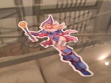Yu-Gi-Oh Anime - Dark Magician Girl Standing Sticker Decal Vinyl Comic Yugi Yami