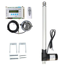 "Electric Solar Tracking Tracker Kits +18"" 6000N Linear Actuator +Lcd Controller"