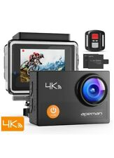 APEMAN Underwater Action Camera 4K Wi-Fi Action Cam 20MP Waterproof 30M 2.0 I...