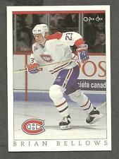 1993 OPC Fanfest Puck Canadiens' Brian Bellows, Card #60