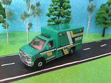 Ford E-350, 2009, Ambulance Medic MBX County EMS, Matchbox MBX Heroic Rescue