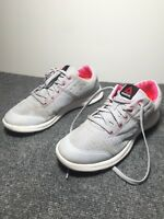 Reebok Women's DMX Lite Prime Walking Shoe size 8.5 sneakers gray pink