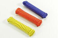 3 mm Reepschnur 50 u 100 m Polyester PES schot seil accessory cord Flechtschnur