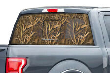 Ford F150 F 150 Window Vision Graphics Vinyl Sticker Decal 2015-2017 WING CAMO