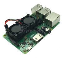 New Heatsink & Cooling Fan Module For Raspberry Pi 3 Model B + Plus