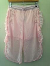 NWT PUMA Blushing Bride Pink Xtreme Mesh Frill Basketball Sports Shorts S $55