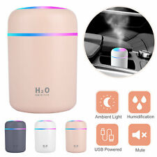 Aroma Essential Oil Diffuser Grain Ultrasonic Air Led Aromatherapy Humidifier