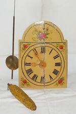 Alte Schilderuhr Holzschilduhr Schwarzwalduhr Wanduhren Uhr Regulator Uhren Holz