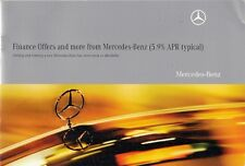 Mercedes-Benz Finance Offers Jan-Mar 2010 UK Market Brochure A B CLC C E S Class