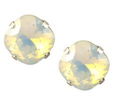 Swarovski Silver Plated Crystal Stud Fashion Earrings