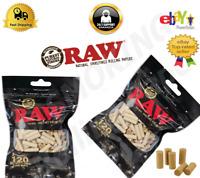Raw Black XL Slim Filter 6mm Filtri Sigarette Extra Lunghi Buste Da 120 Filtri