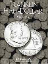 Franklin Half Dollar Coin Folder Album 1948-1963 by H.E. Harris