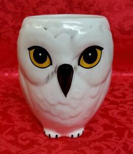 Harry Potter Hedwig White Owl Ceramic Coffee Mug Hogwarts Mug Cup Warner Bros