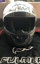 Fulmer S1 Full Face Motorcycle Helmet W/carrier Bag Size Small