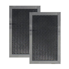 (2 PACK) GE FITS MICROWAVE CHARCOAL FILTER JX81C WB02X10776 WB2X10776  AFF48-CH