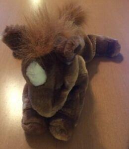 """A & A Plush Brown Horse Plush 10"""""""