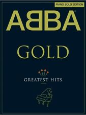 Learn to Play ABBA Gold Pop Chart Hits Best of Solo Edition Piano MUSIC BOOK