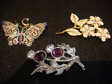Unbranded Resin Alloy Costume Brooches & Pins