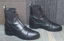 New listing Wmns ARIAT Heritage IV Zip Paddock Black Leather Ankle Boots sz 11 B