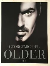 George Michael 1996 Promo Poster Older His Eye Is Green
