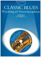 Classic blues. Playalong for Tenor Saxophone  con supporto CD - Guest Spot