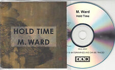M WARD Hold Time 2009 UK 14-track promo test CD 4AD