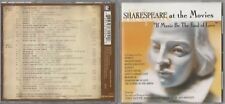 If Music Be The Food Of Love: Shakespeare At The Movies Par City 2CD 2001