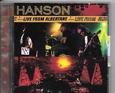 CD ALBUM LIVE 12 TITRES--HANSON--LIVE FROM ALBERTANE 1998
