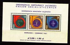 Poland 1961 Sc993a MiBlk24 1 SS mnh Conf.of Communicat.Minist.of Com.Countries
