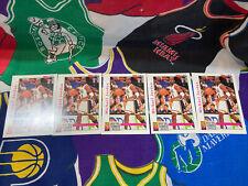 *Lot of 5* 1992-93 NBA Hoops Michael Jordan Card #341 Tournament of The Americas