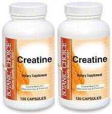 CREATINE 4200MG MUSCLE ENERGY ENDURANCE ATHLETES DIETARY SUPPLEMENT 240 CAPSULES