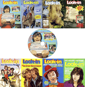 Look-In Magazine / Junior TV Times (1970s) 325 Issues + 18 Annuals/Spls on DVD