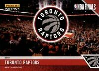 2018-19 2019 Panini Raptors NBA Champions Team Singles (Pick Your Cards)