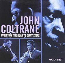 John Coltrane - Evolution Road To Giant Steps [4CD Box Set]