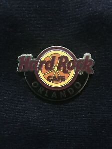 Hard Rock Cafe Orlando Global Logo Limited Edition pin