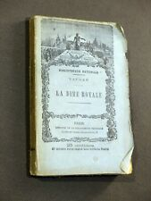 Vauban - La Dîme royale 1875 HACHETTE