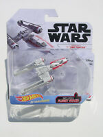 HOT WHEELS 2019 STAR WARS STARSHIPS RESISTANCE Y-WING FIGHTER w FLIGHT STAND NEW