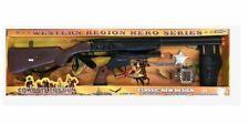 Kids Gun Toys Battery Operated Cowboy Boys Children Xmas Gift Rifle & Pistol Set