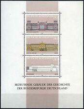 West Germany 1986 SG#MS2136 Important Buildings MNH M/S Sheet Cat £5.50 #D41616