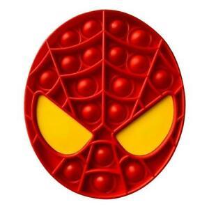 Spiderman Push Pop for it Bubble Fidget Toy Sensory Stress Relief Brand New
