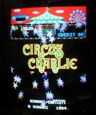 Konami - CIRCUS CHARLIE - Arcade - PCB SET - TESTED WORKING 100% - Stern Centuri