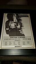 Neneh Cherry Homebrew Rare Original Radio Promo Poster Ad Framed!