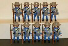 Playmobil 10 confédérés 4622