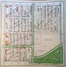 1925 KANSAS CITY MISSOURI IVANHOE S.W. BRUSH CREEK PARKWAY ATLAS MAP