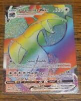 Salamence VMAX 194/189 Secret Rare Full Art Darkness Ablaze Pack Fresh