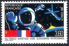 France 1989 French-Soviet SpaceFlight/Astronaut/Satellite/Intercosmos 1v n24037