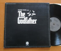 The Godfather Original Soundtrack LP Nino Rota 1972 Gatefold Paramount SPFA 7003