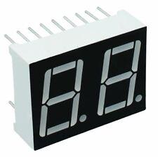 "Blue 0.56"" 2-Digit Seven Segment Display Anode LED"